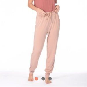 Paper Label Whitney Cuffed Jogger Burnt Rose Small